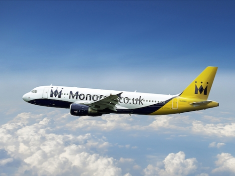 Monarch flies skiers from Birmingham, Manchester and London Gatwick