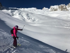 Off-piste in Courmayeur