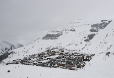 Rain and wet snow spoil Les Deux-Alpes (or Les 2 Alpes)
