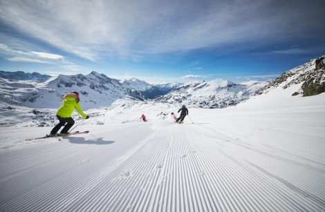 Obertauern's skiing is high and snowsure – unusual for Austria