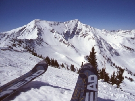 The ski resort of Park City is less than an hour's drive from Salt Lake City in Utah