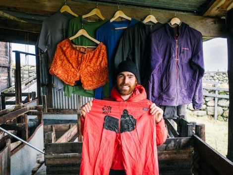 Patagonia is encouraging people not to ditch their old ski kit, but to repair