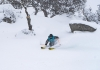 Snow storm hits Perisher ski resort
