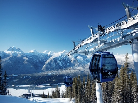 Revelstoke in British Columbia (pictured) and Telluride have joined the Mountain Collective