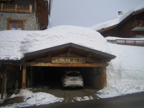 La Rosière has had over 10m of snow this season and currently has a 3m base at resort level