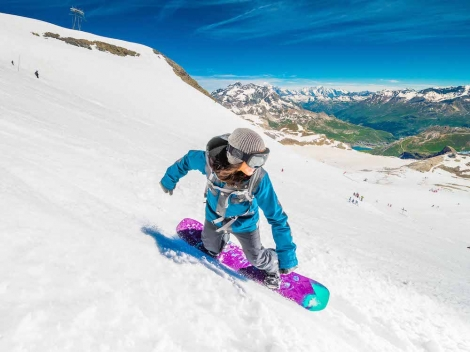 Summer skiing starts in Tignes this weekend. Pic ©andyparant.com