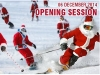 Free skiing for Santas in Verbier
