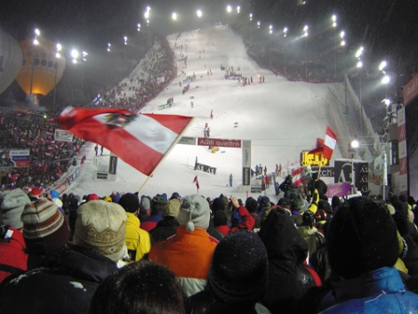 Schladming lights up