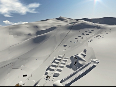 The Sulayr snowpark will have 70 features, of which 46 taken be taken in a row