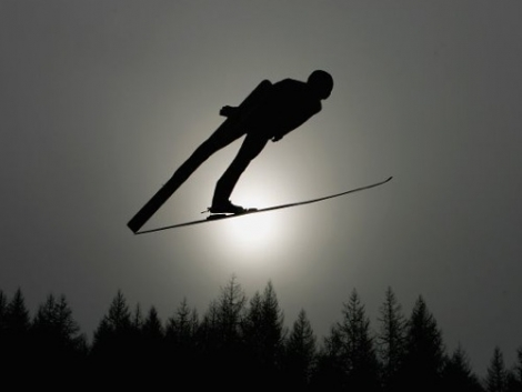 Ski jumping did take place on Saturday   [Vancouver2010.com]
