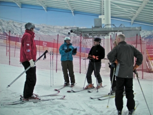 Skiing and boarding buoyant in England