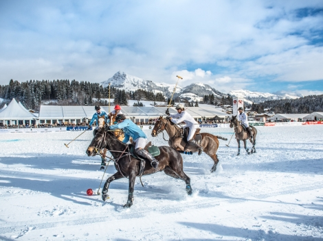 The ski resort of Kitzbühel has top events throughout January. Pic: Michael Werlberger