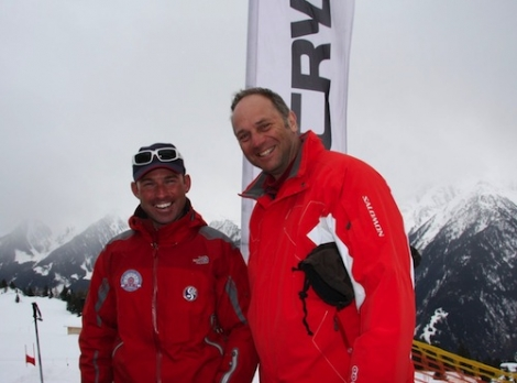 Sir Steve Redgrave, a BASI ski instructor, is one of 12 celebrities in The Jump