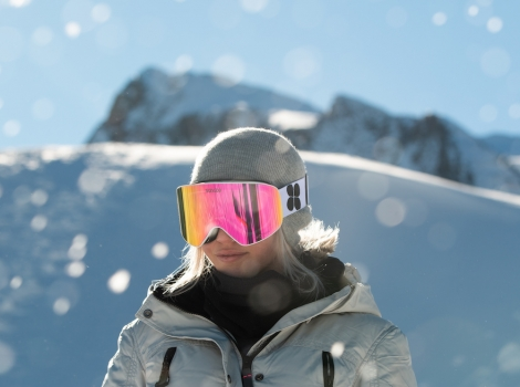 We're giving away a pair of SunGod Vanguards™ ski goggles. Pic: Jamie Matthew