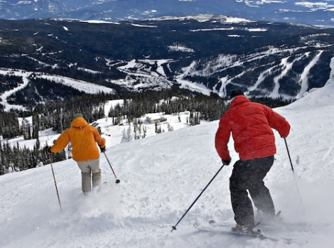 Our loyal reader quoted from Where to Ski and Snowboard 1995 when booking a trip to Sun Peaks