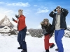 Join a Swiss snowball fight in London