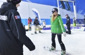 The Snow Centre is taking part in National Schools Snowsport Week