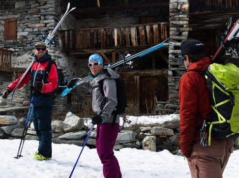 Ski touring in the Haute Maurienne Vanoise last Easter. Pic: Tristan Kennedy