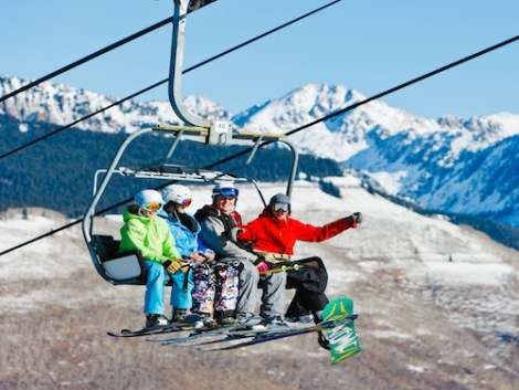 The number of skiers and snowboarders visiting Colorado jumped by 10 per cent last season