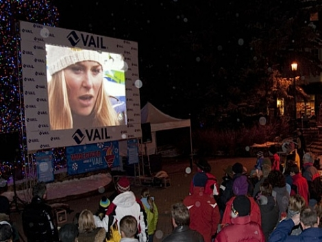 Vail cheers on Vonn in Vancouver!   [Vail Resorts]