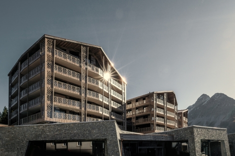 Valsana Hotel & Apartment complex in Arosa reduces their ecological footprint,