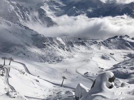 The ski area of Verbier will open on 2 November with more than 60cm of fresh snow
