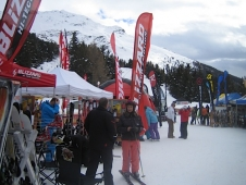 On test in Bormio