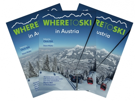 Order your copy of Where to Ski Austria through the website for just £7.50 plus P&P