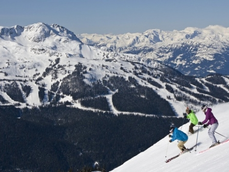 Whistler remains the top destination in Canada for British skiers