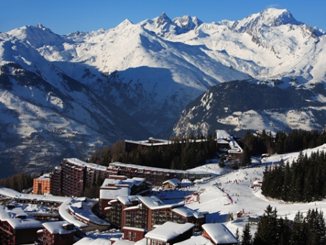 The French ski resort of Les Arcs will celebrate Britain's love affair with the Alps in March
