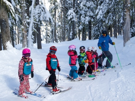 The Canadian ski resort of Whistler Blackcomb has opened a snowpark just for kids
