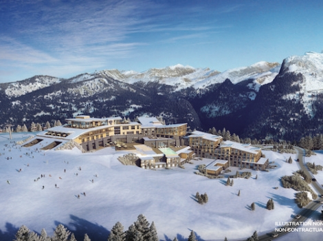 Club Med is opening a new flagship family resort in Samoëns this coming winter