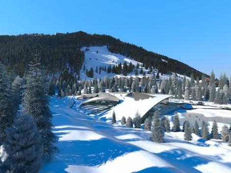 station ski courchevelle