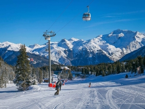 Courchevel opens for skiing today