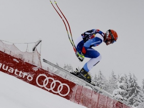 (c) Hahnenkamm.com  - Cuche in action
