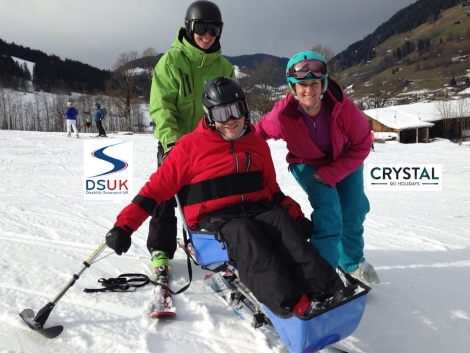 Staff and guests of Crystal Ski Holidays last winter donated more than £131,000 to DSUK
