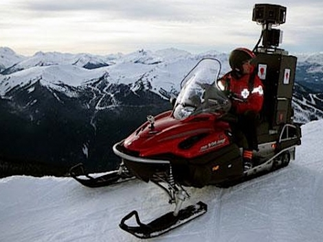 The Google mobile in Whistler