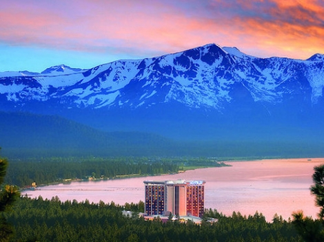 The MontBleu Resort Casino and Spa in the ski area of Heavenly