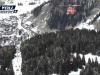 Helicopter rescues skiers from Italian lift