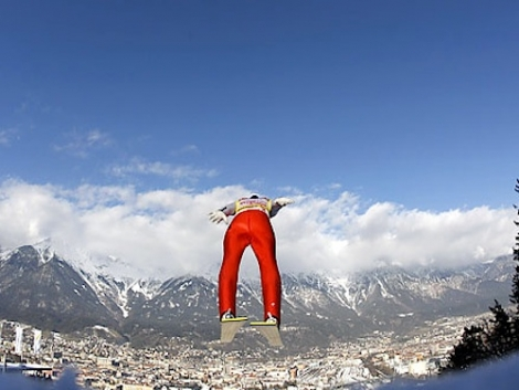 Leap over Innsbruck