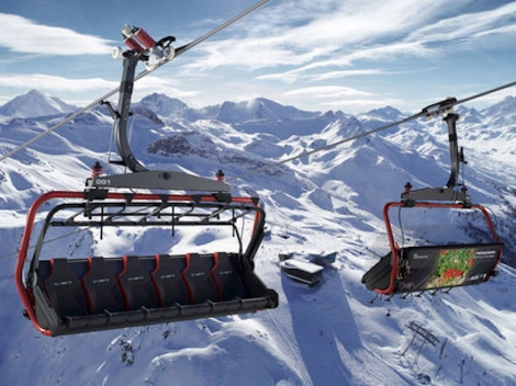 The six-seater Velilleck F1 will be the fastest chair in Ischgl ©TVB Paznaun-Ischgl