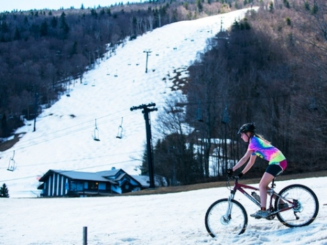 With heavy rain this week and more on the way, Killington is better for mountain biking