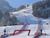 Perfect snow for the Hahnenkamm