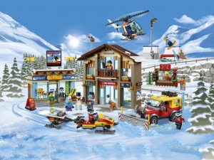 Lego to launch ski resort set