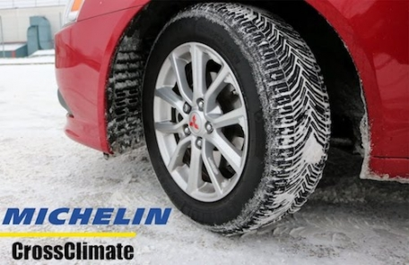 Editor Gill settles on unusual Michelin 'winter' tyres