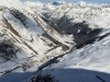 Skiers photobomb Obergurgl webcams