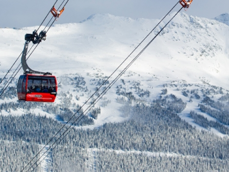 PEAK 2 PEAK has the world's longest unsupported span between two cable car towers