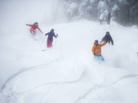 Skiers and boarders enjoy fantastic conditions in Breckenridge last weekend