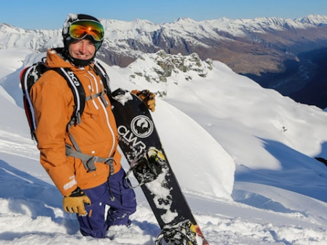 Inghams is offering a corker weekend — a chance to go snowboarding with TV presenter Ed Leigh