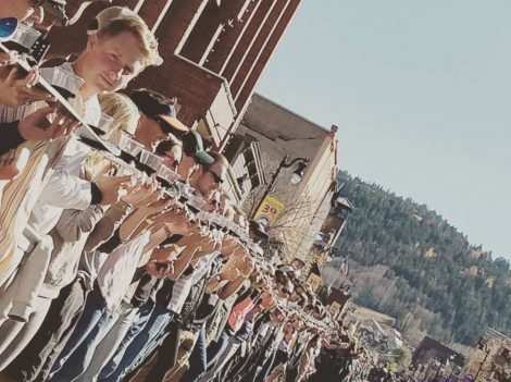 The second annual Park City Shot Ski event aims to claim back the world title